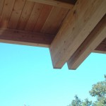 Glue-Laminated Structural Wood Roof Joists